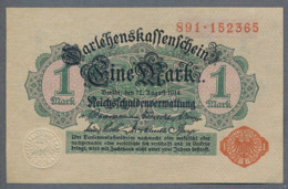 Pick 51 Ro 51c DEU-58   1 Mark 1914 UNC ! - [ 2] 1871-1918 : Impero Tedesco