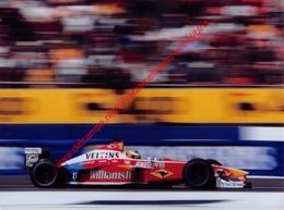 Ralf Schumacher Williams F1 British GP 1999 - Original Press Photo - Format 24x17,5cm - Automobile - F1
