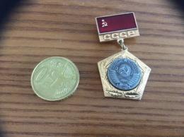 """Médaille Soviétique (URSS) """"CCCP"""" Métal - Russie"""
