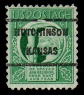 "USA Precancel Vorausentwertung Preo, ""HUTCHINSON"" (Kansas). - Preobliterati"