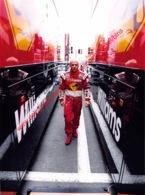 Jacques Villeneuve Magny-Cours 1998 Williams - Original Press Photo - Format 24x17,5cm - Automobile - F1