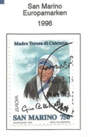 San Marino  1996  Mi.Nr. 1650 , EUROPA CEPT Berühmte Frauen - Gestempelt / Fine Used /(o) - 1996