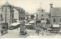 Le Touquet - Paris Plage - La Rue De Londres, Jour De Marché - Le Touquet