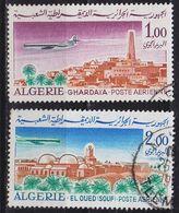 ALGERIEN ALGERIA [1967] MiNr 0474-75 ( O/used ) Flugzeuge - Algerien (1962-...)