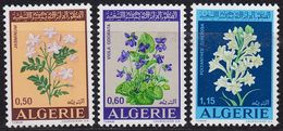 ALGERIEN ALGERIA [1972] MiNr 0589-91 ( **/mnh ) Blumen - Algerien (1962-...)
