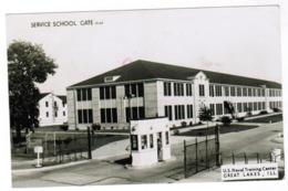 Service School Gate, US Naval Training Centre, Great Lakes, IL (pk59883) - Etats-Unis