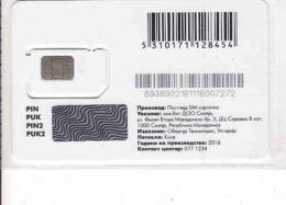 Macedonia GSM SIM, Mint In Package, - Macédoine