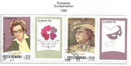 Rumänien / Posta Romana  1996  Mi.Nr. 5174 / 5175 , EUROPA CEPT Berühmte Frauen - Gestempelt / Fine Used / (o) - 1996
