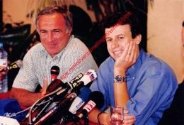 Olivier Panis Prost GP Accident 1997- Original Press Photo - Format 24x17,5cm - Automobile - F1