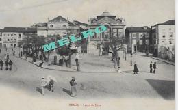 Portugal -BRAGA - Largo Da Lapa  (Postal Muito Animado.) - Braga