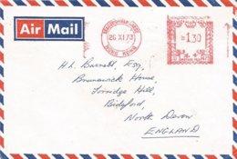 """Hong Kong 1973 Beaconsfield House Meter Universal """"Automax"""" U473 Cover - Hong Kong (...-1997)"""