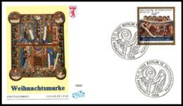 "Germany Berlin 1988, FDC Cover ""Christmas 1988"", W./postmark Berlin - Berlin (West)"