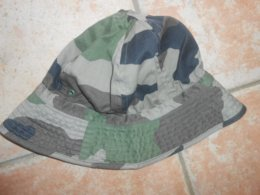 Militaria :  Chapeau / Bob  / Camouflage  Taille 57 PAUL BOYE SETE 1999 ( Très Bon état) - Uniform