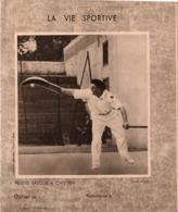 Vieux Papiers >  Protège-cahiers Illustrés > Sports La Vie Sportive Pelote Basque Et Borotra Coupe Davis - Sport