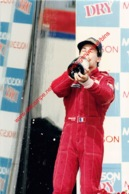 Jean Alessi Canada 1995 Ferrari - Original Press Photo - Format 24x17,5cm - Automobile - F1