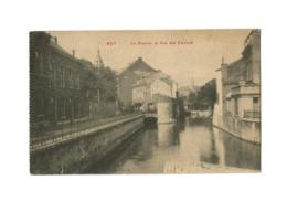 HUY   Le Hoyoux Et Rue Des Foulons. - Hoei