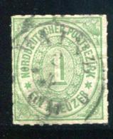 North German Confederation SC# 7  Used 1868 - North German Conf.