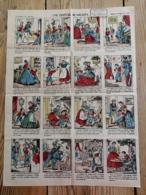 IMAGERIE D'EPINAL - N° 770 - UNE FRITURE DE GOUJONS - Alte Papiere