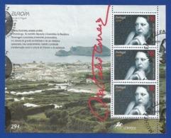 Portugal / Azoren 1996  Mi.Nr. Block 15 (456) , EUROPA CEPT - Berühmte Frauen - Gestempelt / Fine Used / (o) - 1996
