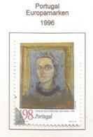Portugal  1996  Mi.Nr. 2123 A , EUROPA CEPT - Berühmte Frauen - Gestempelt / Fine Used / (o) - 1996