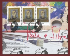 Portugal  1996  Mi.Nr. Block 113 (2123) , EUROPA CEPT - Berühmte Frauen - Gestempelt / Fine Used / (o) - 1996