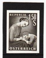 HSE180 ÖSTERREICH 1958 SCHWARZDRUCK MICHL 1042  OHNE GUMMI Siehe ABBILDUNG - 1945-.... 2nd Republic