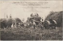 CPA  33 ST ANDRONY    ENTREPRISE DE BATTAGE  MECANIQUE  LEONCE BALOUGUE   DE SAINT PAUL TRES RARE - France