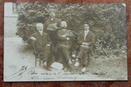 MELUN (77) - CARTE PHOTO - COLONIE SCOLAIRE DU 15e ARRONDISSEMENT 1905 - Melun