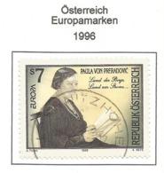 Österreich 1996  Mi.Nr. 2189 , EUROPA CEPT - Berühmte Frauen - Gestempelt / Fine Used / (o) - 1996