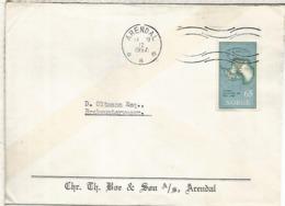 NORUEGA ARENDAL 1957 ANTARTIDA ANTARCTIC AÑO GEOFISICO IGY GEOPHYSIC YEAR - Año Geofísico Internacional