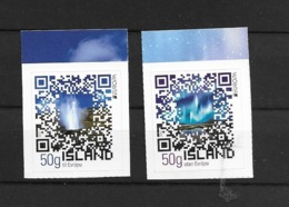 2012 MNH Island, Self Adhesive Postfris** - Europa-CEPT