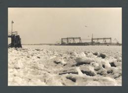 Photo Ancienne HAMBOURG Hamburg Deutsche Werft Chantier Naval Mer De Glace Eismeer - Luoghi