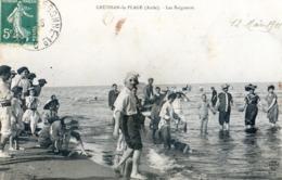 11 - Gruissan - La Plage - Les Baigneurs - Autres Communes