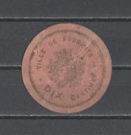 FRANCE. Jetons Ville De FOURMIE - Monetary / Of Necessity