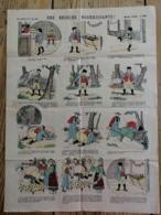 IMAGERIE D'EPINAL - N° 438 - UNE BRIOCHE NOURRISSANTE - Vieux Papiers