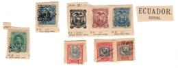 Ecuador 7 Stamps ( 2 Broken ) Fra.1215 - Ecuador