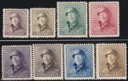 Belgie    .    OBP   .  165/172    .  **  .    Postfris ZONDER  Charnier    .  / .  Neuf SANS  Charniere - 1919-1920 Behelmter König