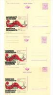 Publibel Neuve N° 2571-72-73  (Abonements Touristiques  Partout En Train En Belgique) - Stamped Stationery