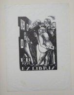 Ex-libris Illustré Espagne XXème - AEB - 1952 - Les Amateurs D'ex-libris - Ex-libris