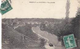 CPA (72) FRESNAY SUR SARTHE  Vue Partielle - France
