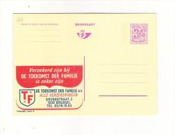 Publibel Neuve N° 2562 (Toekomst Der Familie  Brussel) - Stamped Stationery
