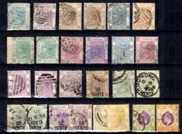 Hong-Kong Belle Petite Collection D'anciens 1862/1911. Bonnes Valeurs. B/TB. A Saisir! - Hong Kong (...-1997)