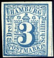 Hamburg. Michel #4. Unused. (*) - Hamburg