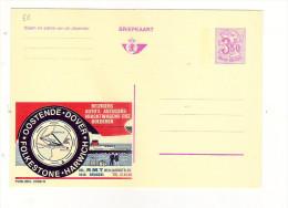Publibel Neuve N° 2569 (Ostende-Dover - Oostende-Dover) - Stamped Stationery