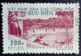 Viet Nam Du Nord North Viet-Nam 1957 Barrage Dam Yvert 113 O Used - Vietnam