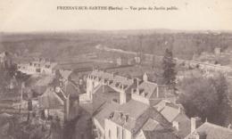 CPA (72) FRESNAY SUR SARTHE   Vue Prise Du Jardin Public - France