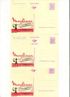 Publibel Neuve N° 2550-51-52 (Moulinex -Gosselies) - Stamped Stationery