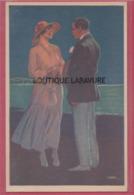 ILLUSTRATEUR ---Léopold METLICOWITZ---Belle Série De 6 Cartes De Couple - Illustrateurs & Photographes