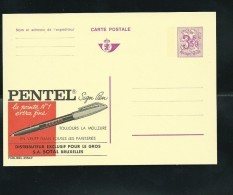 Publibel Neuve N° 2554 ( Pentel; Stylo) - Stamped Stationery