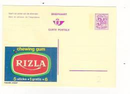 Publibel Neuve N° 2559 (chewing Gum: RIZLA) - Stamped Stationery